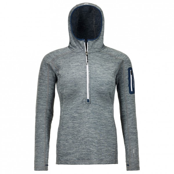 Ortovox - Women's Fleece Light Melange Zip Neck