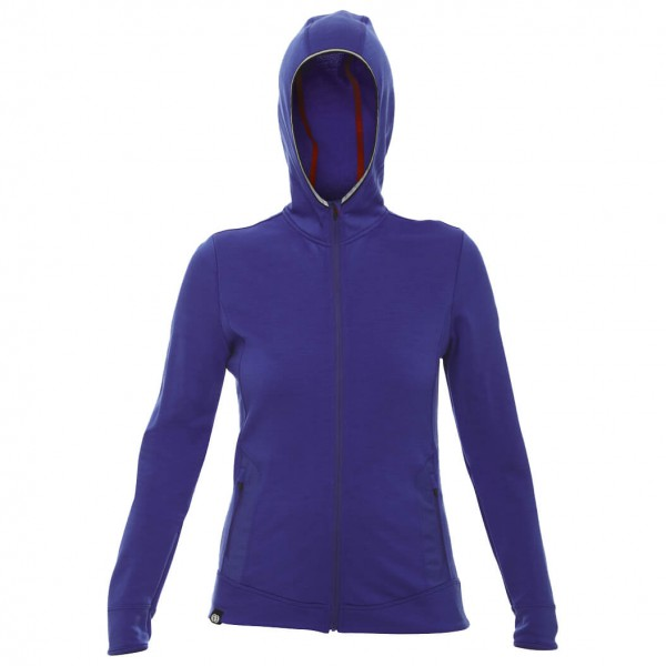 Rewoolution - Women's Babeth Sweat Hooded Full Zip L/S