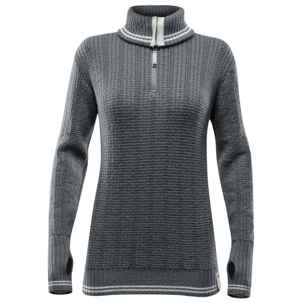 Devold - Randers Woman Zip Neck - Merino trui