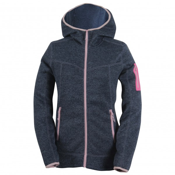 2117 of Sweden - Women's Flatfleece Jacket with Hood Heden - Fleecejakke