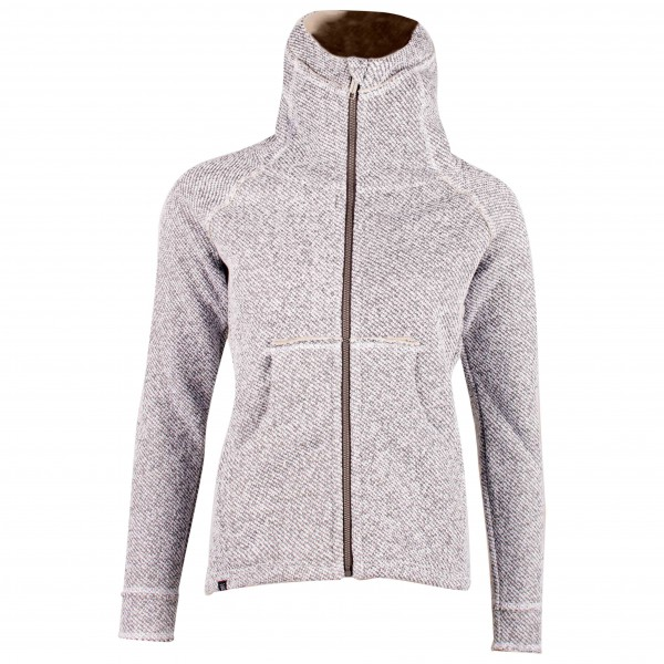 2117 of Sweden - Women's Wool Hoodie Gullspang - Fleecejacka
