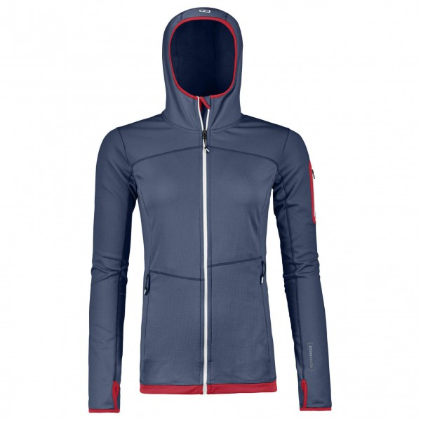 Ortovox - Women's Fleece Light Hoody High - Uldjakke