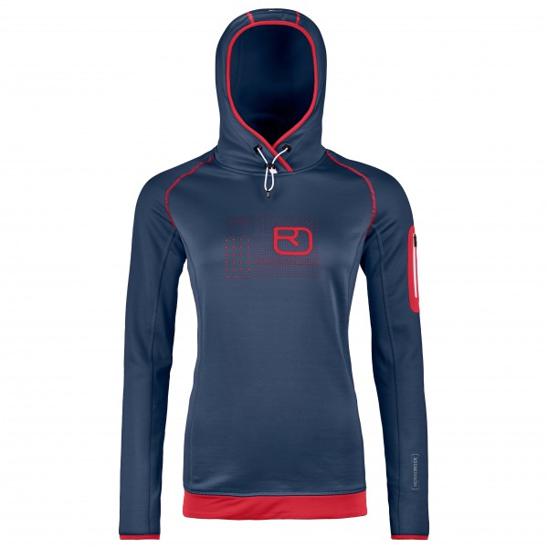 Ortovox - Women's Fleece Logo Hoody - Pull polaire