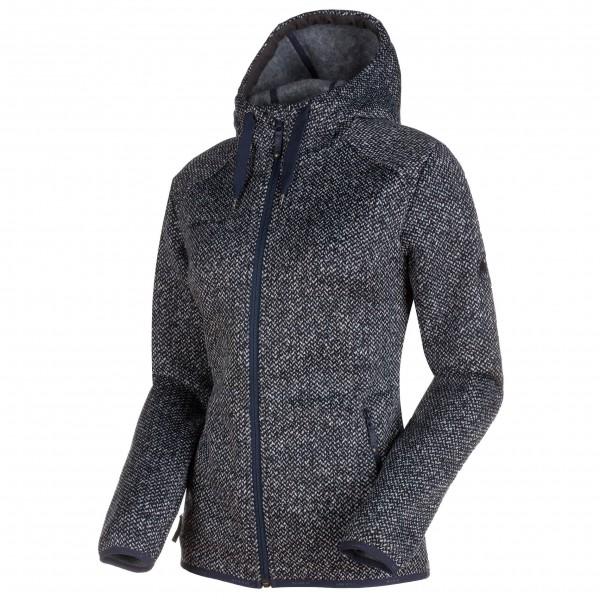 mammut chamuera midlayer hooded jacket fleecejakke dame vurdering og test. Black Bedroom Furniture Sets. Home Design Ideas
