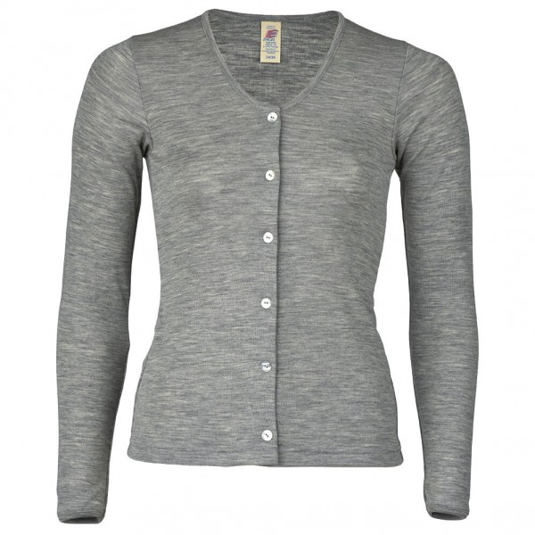 Engel - Damen Cardigan Feinripp - Wool jacket