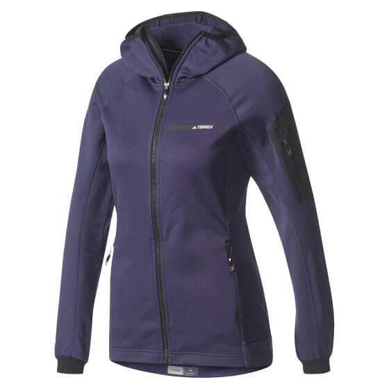 adidas - Women's Terrex Stockhorn Hooded Fleece Jacket
