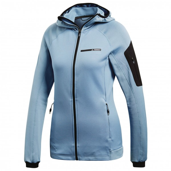 adidas - Women's Terrex Stockhorn Hooded Fleece Jacket