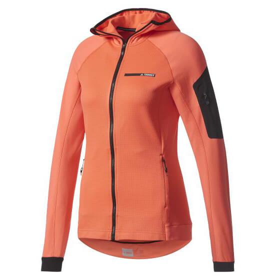 adidas - Women's Terrex Stockhorn Hooded Fleece Jacket - Fleece jacket