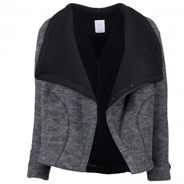We Norwegians - Frost Motojacket Women - Chaqueta de lana