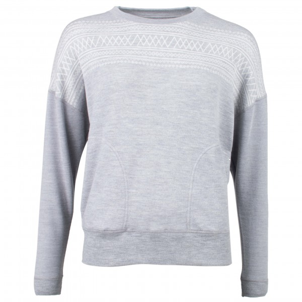 We Norwegians - Setesdal Crewneck Women - Merino sweatere