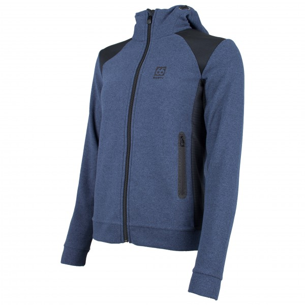 66 North - Gunnar Women's Hooded Jacket - Fleecejack