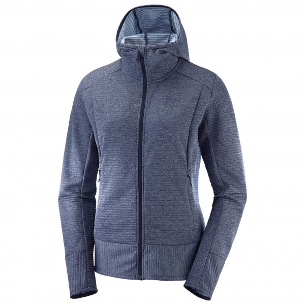 Salomon - Women's Right Nice Mid Hoodie - Fleecejacka