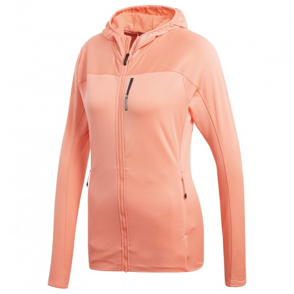 adidas - Women's Terrex TraceRocker Hooded Fleece - Fleecejacka