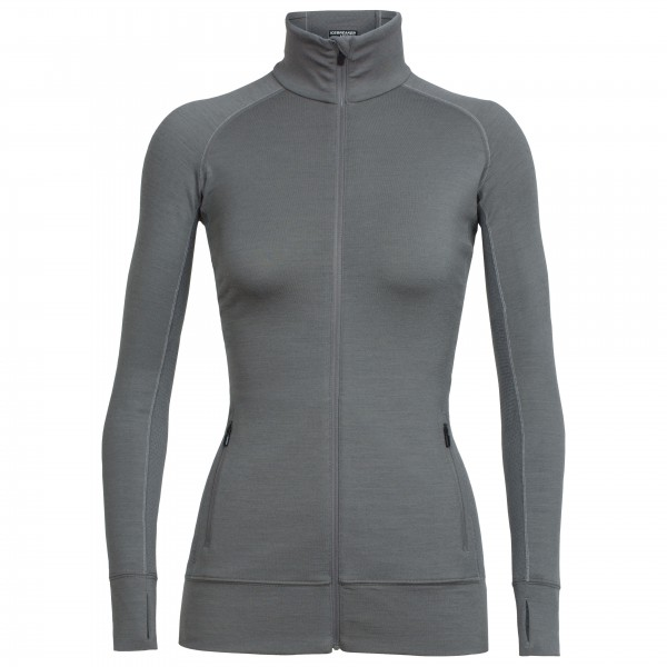Icebreaker - Women's Fluid Zone L/S Zip - Wolljacke