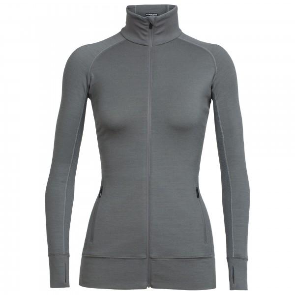 Icebreaker - Women's Fluid Zone L/S Zip - Wool jacket