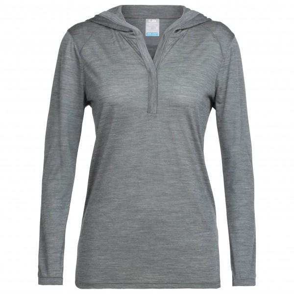 Icebreaker - Women's Sphere L/S Hood - Merino sweatere