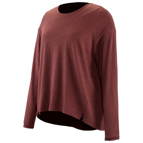 Alchemy Equipment - Women's Long Sleeve Pleated Relaxed Top - Merino jumper