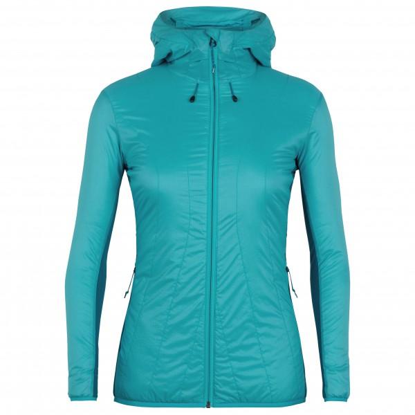 Icebreaker - Women's Hyperia Lite Hybrid Hooded Jacket - Wolljacke