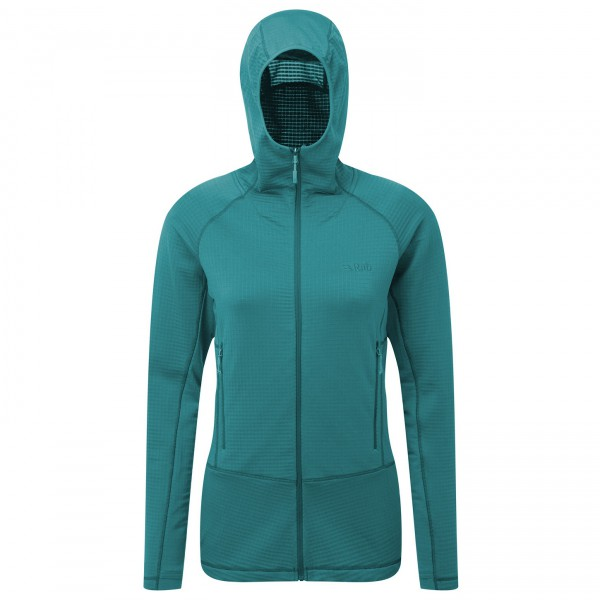 Rab - Women's Power Grid Hoody - Fleecejacka