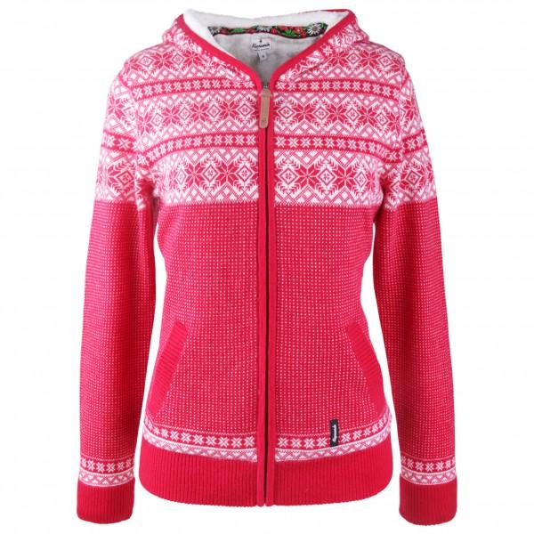 Alprausch - Women's Flausch-Helga Knitted Zip-Hoodie - Wollen jack