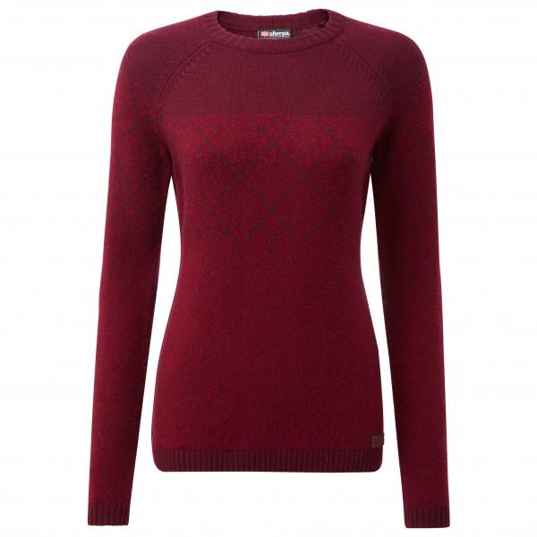 Sherpa - Women's Amdo Crew Sweater - Merinogensere