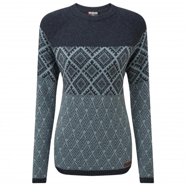 Sherpa - Women's Amdo Crew Sweater - Pullover in lana merino