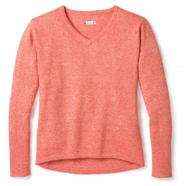 Smartwool - Women's Shadow Pine V-Neck Sweater - Merinovillapulloverit