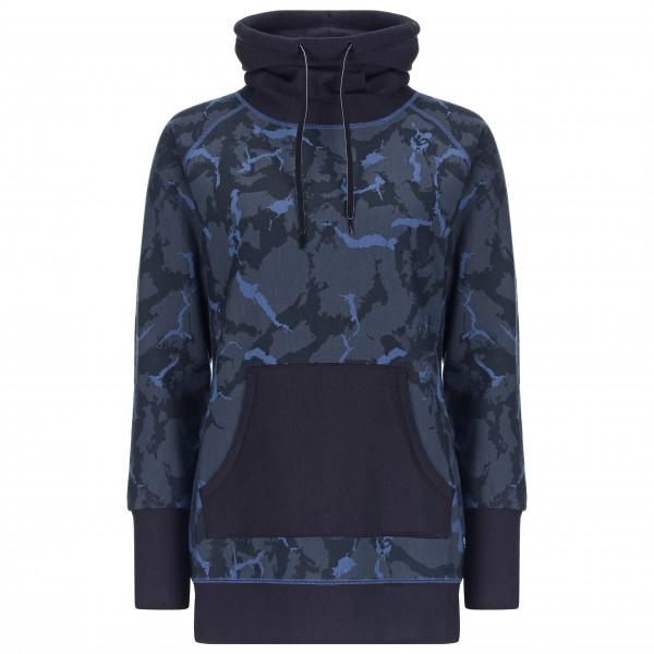 SuperNatural - Women's Mountain Cascade Fleece Printed - Överdragströjor merinoull