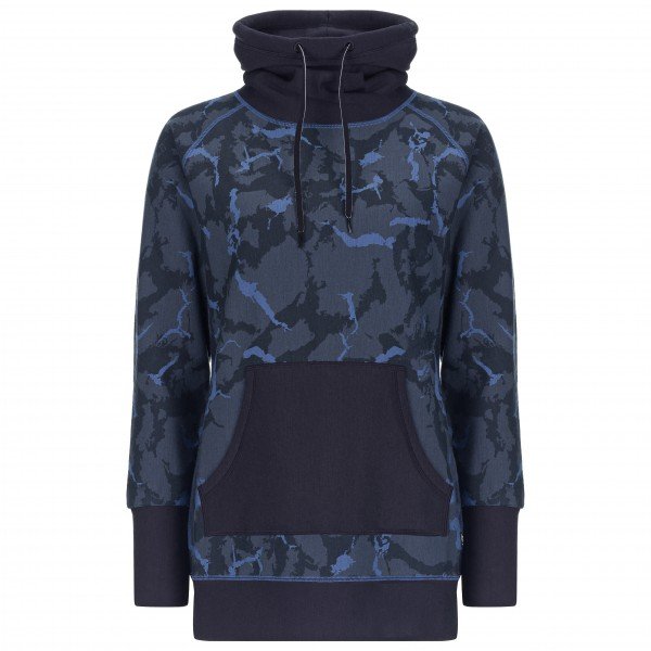 SuperNatural - Women's Mountain Cascade Fleece Printed - Merino sweatere