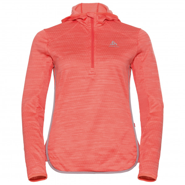 Odlo - Women's Hoody Midlayer 1/2 Zip Steam - Fleecepulloverit