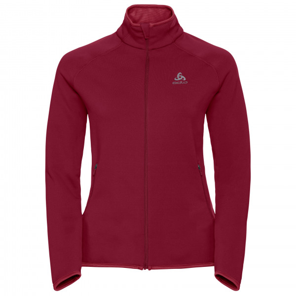 Odlo - Women's Midlayer Full Zip Carve Warm - Fleecejakke