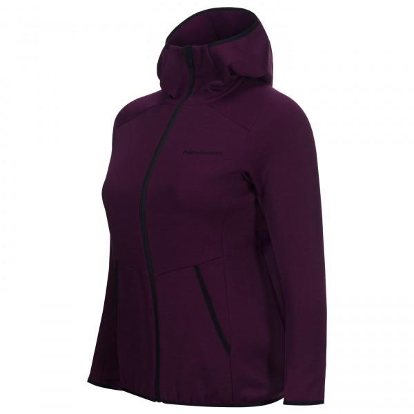 Peak Performance - Women's Helo Mid Hood Jacket - Uldjakke