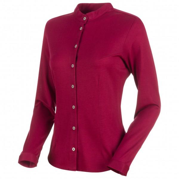 Mammut - Women's Fedoz Longsleeve Shirt - Merinogensere