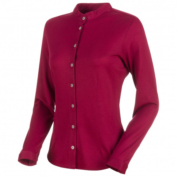 Mammut - Women's Fedoz Longsleeve Shirt - Merinovillapulloverit