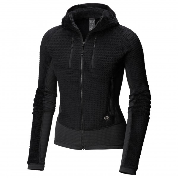 Mountain Hardwear - Women's Monkey Woman Grid Hooded Jacket - Giacca in pile