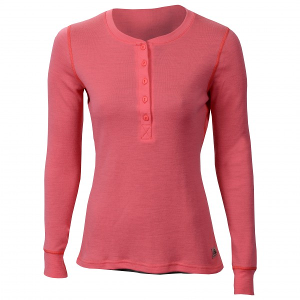 Aclima - Women's Warmwool Granddad Shirt - Merinovillapulloverit