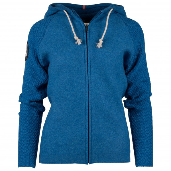 Amundsen Sports - Women's Boiled Hoodie Jacket - Uldjakke