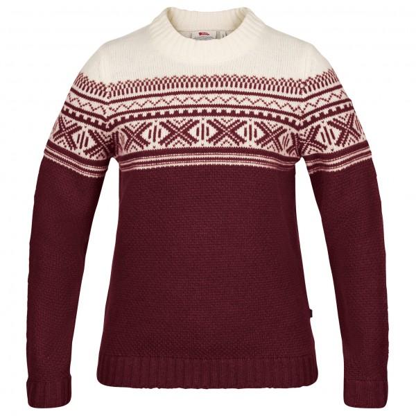 Fjällräven - Women's Övik Scandinavian Sweater - Överdragströjor merinoull