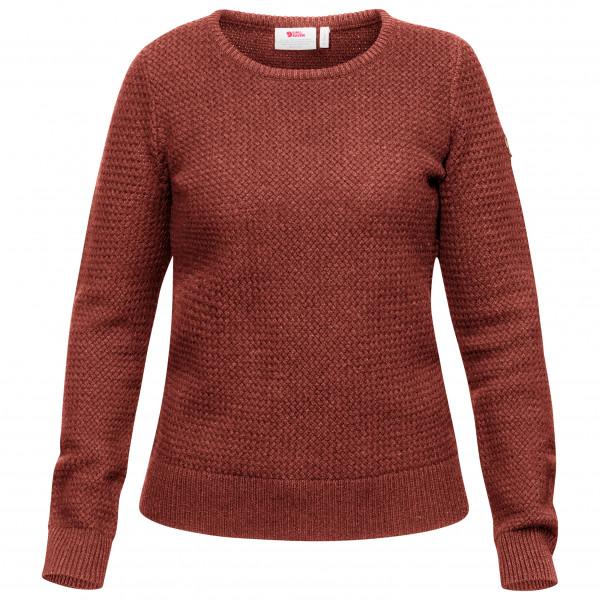 Fjällräven - Women's Övik Structure Sweater - Överdragströjor merinoull