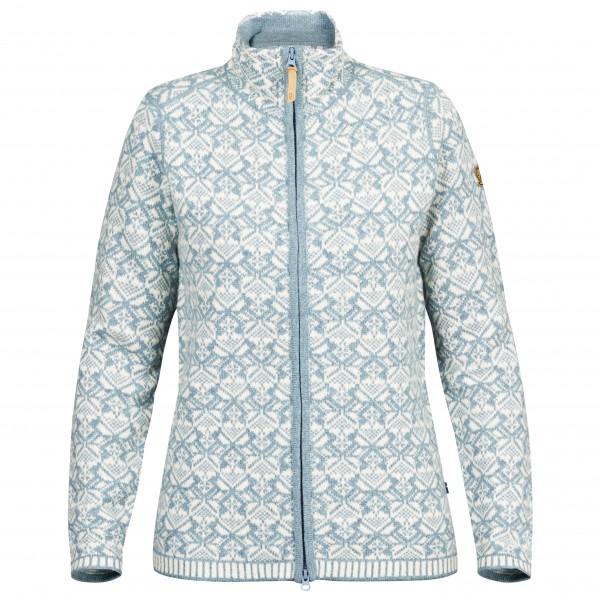Fjällräven - Women's Snow Cardigan - Uldjakke