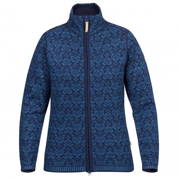 Fjällräven - Women's Snow Cardigan - Wool jacket