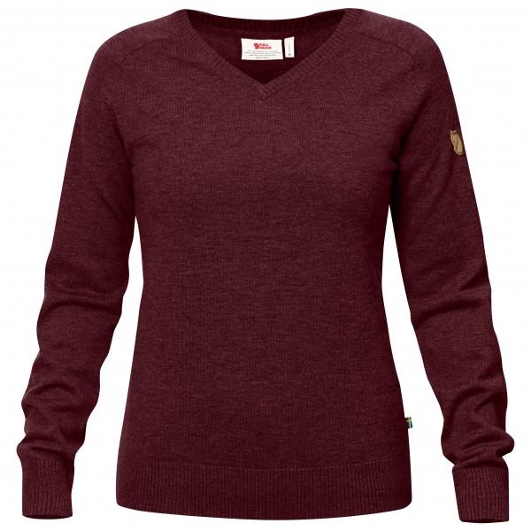 Fjällräven - Women's Sörmland V-Neck Sweater - Merino jumper