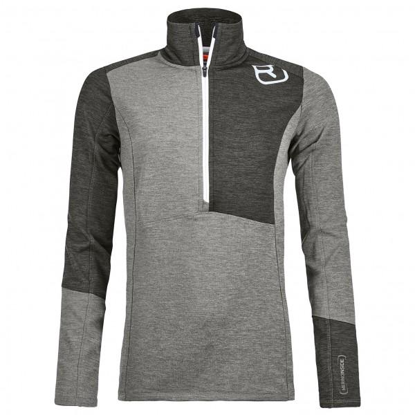 Ortovox - Women's Fleece Light Zip Neck - Merino sweatere