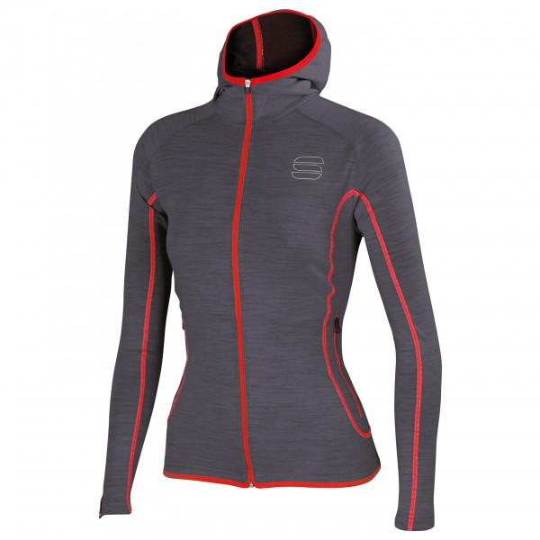 Sportful - Women's Terra Zip Hoody - Överdragströjor merinoull