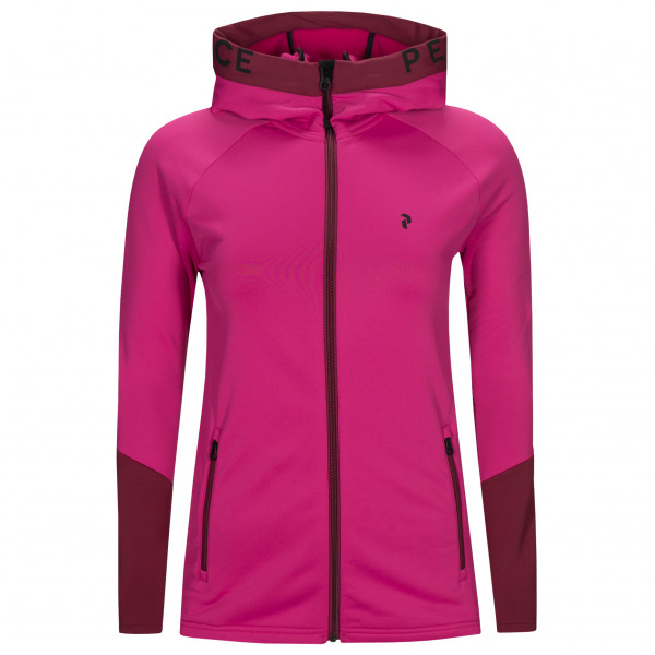 Peak Performance - Women's Rider Zip Hood - Fleece jacket