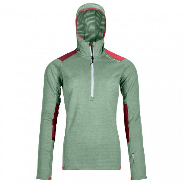Ortovox - Women's Fleece Light Grid Zip Neck Hoody - Fleecetröjor