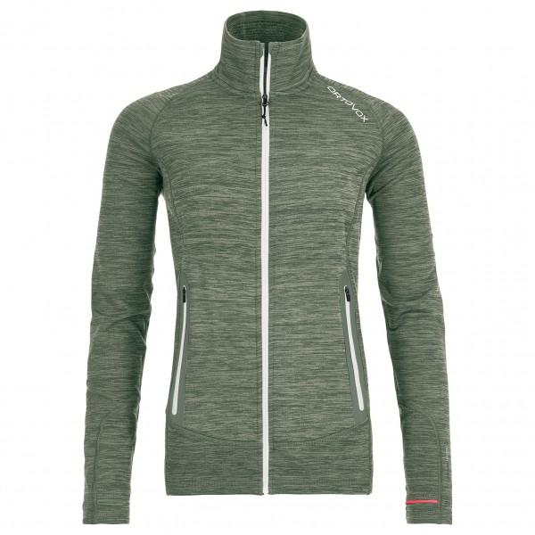 Ortovox - Women's Fleece Light Melange Jacket - Ulljakke