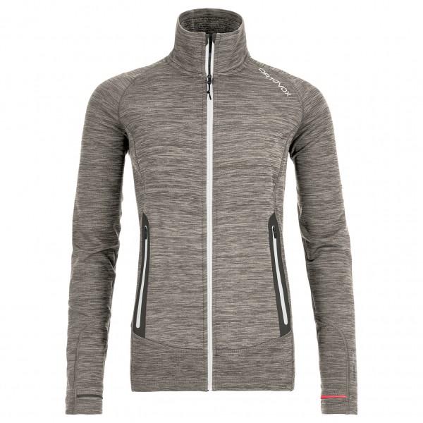 Ortovox - Women's Fleece Light Melange Jacket - Wollen jack
