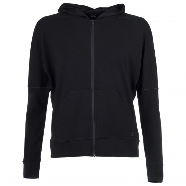 Icebreaker - Women's Momentum L/S Zip Hood - Wool jacket