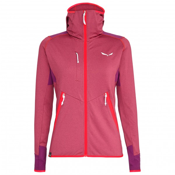 Salewa - Women's Agner Hybrid Polarlite Fullzip Hoody - Fleece jacket